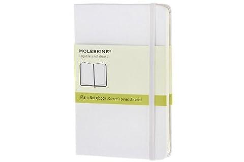 Moleskine farbiges Notizbuch (Pocket, Hardcover, blanko)