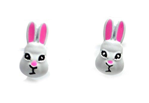 bbit Bunny Ohrstecker (in Organza Tasche) (Super Bunny Kostüme)