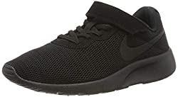Nike Jungen Tanjun (PSV) Laufschuhe, Schwarz (Black/Black 001), 34 EU