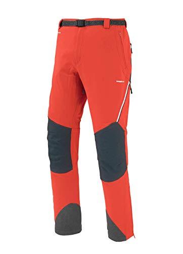 Trangoworld pc007742 – 6za-la Pantalon Long, Homme, Orange Intense/Gris (Ombre Foncé), L