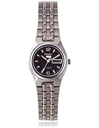 Seiko  SYMK33K1 - Reloj de automático para mujer, con correa de acero inoxidable, color plateado