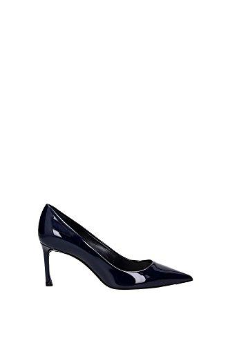 KCP096VNIS526 Christian Dior Talon Femme Cuir Verni Bleu Bleu