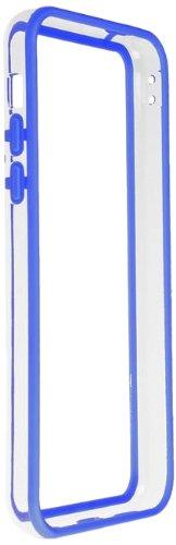 Horny Protectors iP5c-4012c TPU Silikon Schutzhülle für Apple iPhone 5c (nicht 5S) transparent/gelb Transparent Dunkelblau