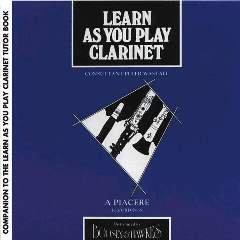 Learn As You Play Clarinet CD accompaniments
