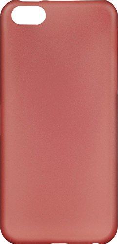 Cellux Hartschale Ultra-Dünn 0,4 mm für Apple iPhone 4/4S gefrostet rot gefrostet-rot