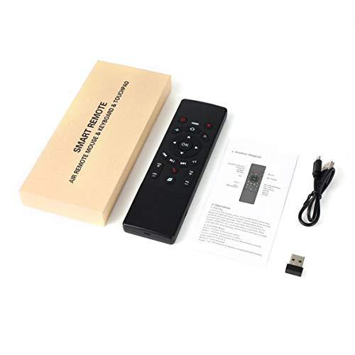 Smart Mouse 2.4GHz Wireless Mouse Mouse Télécommande Mini Clavier et pavé Tactile
