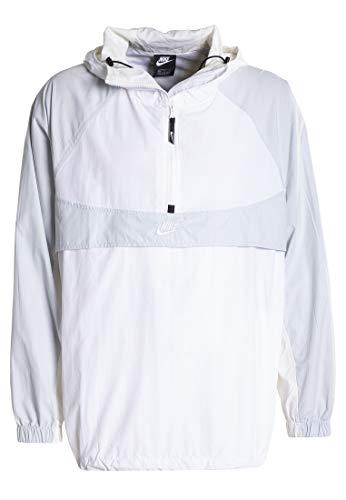 Nike Herren Sportswear Sweatshirt, Weiß/reines Platin/Segel/Weiß, M