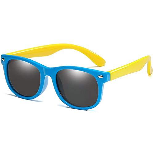 LAMAMAG Sonnenbrille Kids Polarized Sonnenbrillen Jungen Mädchen Platz Sonnenbrillen Uv400 Eyewear Kind Shades Oculos De Sol Gafas, D