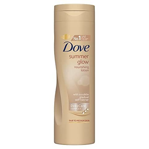 Dove Summer Glow Fair to Medium Nourishing Lotion, 250 ml