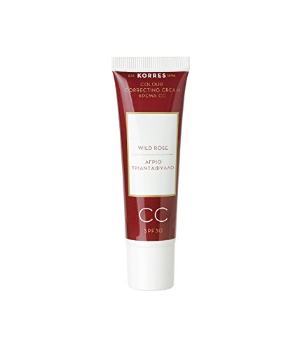 WILD ROSE CC (Colour Correcting) Cream Medium CC SPF30 30ml