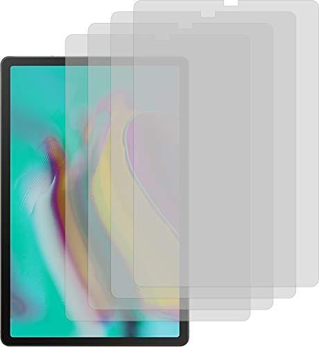 Samsung Galaxy Tab S5e 4X Crystal Clear klar Schutzfolie Displayschutzfolie Bildschirmschutzfolie Schutzhülle Displayschutz Displayfolie Folie - Samsung 4 Galaxy 7 Weiß Zoll Tab