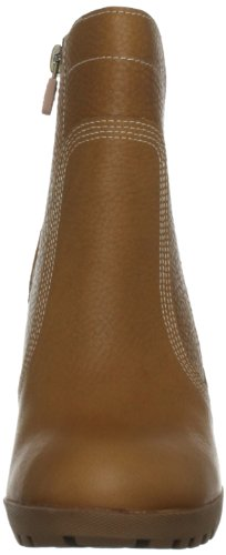 Timberland Stratham Heights  Women s Ankle Boots  Dark Tan  3 5 UK