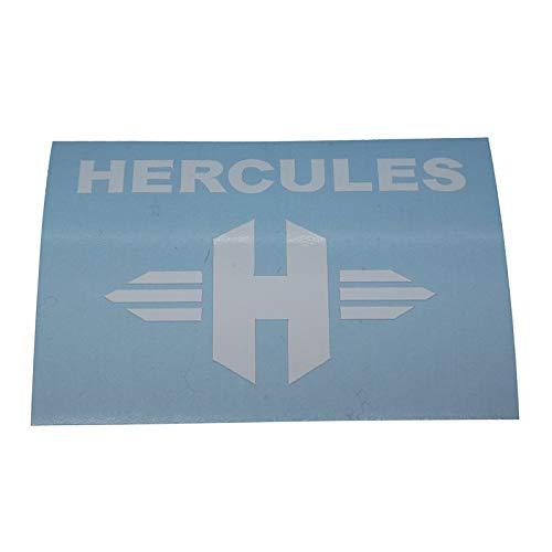 Hercules H Sattelrohr Rahmen, Ersatzteil Sticker für Rahmen Sattel Sitz Schriftzug Dekor. Zum Oldtimer Restaurieren von Lack und Verkleidung. Alternativ zum Motorrad Emblem