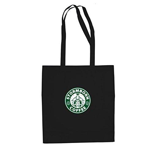 Coffee Kostüm Starbucks - Planet Nerd GoT: Stormborn Coffee - Stofftasche/Beutel, Farbe: schwarz