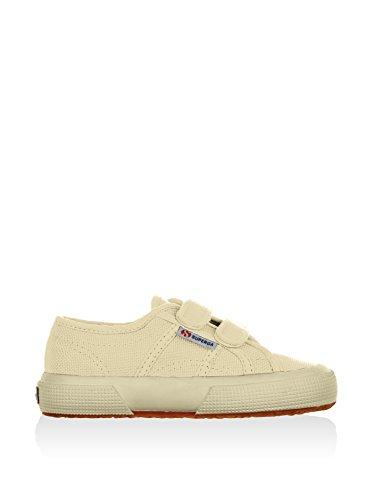 Superga 2750 Jvel Classic, Sneakers Basses mixte enfant Blanc Cass ( Ecru)