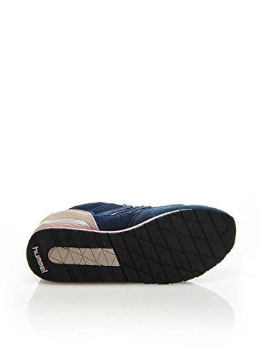 Hummel Unisex-Erwachsene Marathona Low Marineblau