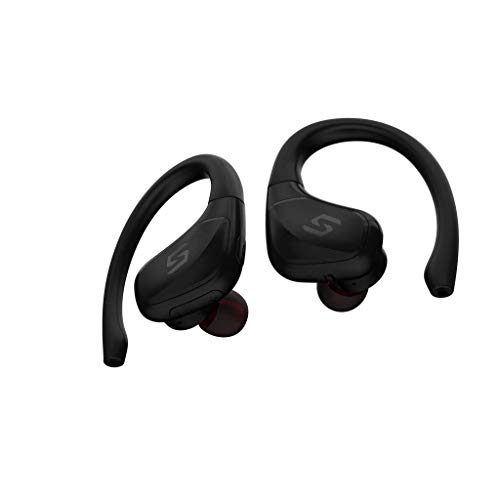 Bluetooth Kopfhörer Twins Mini Wireless Sweatproof Sport-Ohrhörer Headset Stereo-Kopfhörer Kopfhörer Intelligentes Headset Bass 4.2 HIF In-Ear-Mini-Headset Drahtloser Sport Ohrhörer (Black) - Mikrofon G3 Sennheiser