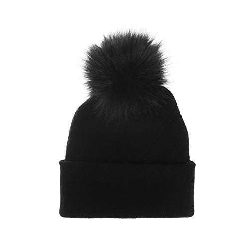 Cappello in Maglia Cappelli Invernali Berretti in maglia Cappello Invernale Beanie Unisex Caldo Cappello per Sci/Bici/Moto berretto donna inverno accessori carnevale bamb