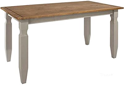 Core Products Corona Grey 1500mm Dining Table produced by Core Products - quick delivery from UK.