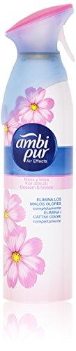 Ambi pur air effects deodorante spray per ambienti fiori eleganti- 300 ml