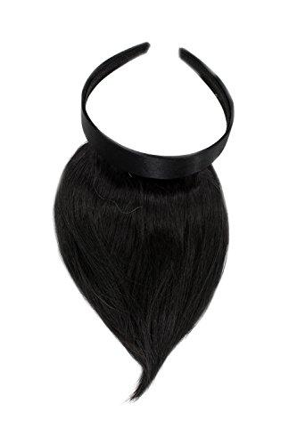 WIG ME UP  - HA073T-3 Toller Clip-in Pony mit Haarreif für besonders natürliche Wirkung,...