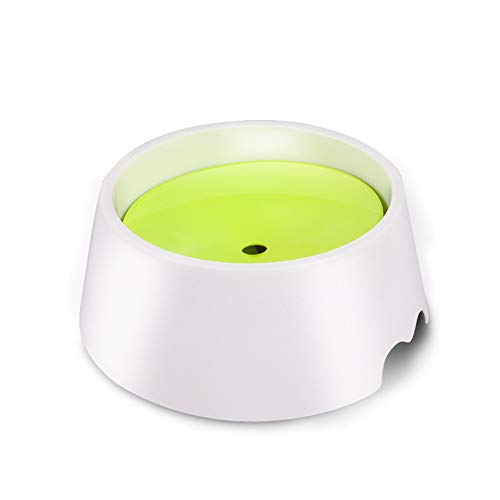 PET Water Bowl Non Spill Drinker Dog Slow-Down Water Feeder Automatic Lifting Drinker Water Food Bowl for Pet Cat Teddy Puppy-Non-Wet Mouth Drinker-1000ml