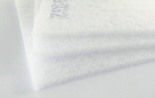 G2 Filtermatte ca. 2m x 1m 8-10mm dick circa 100g/m² Vorfilter für Ventilator Badlüfter u.v.m. Prefilter zum Selberschneiden