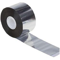 Cinta Adhesiva de PP Aluminio, 50 mm x 50 m