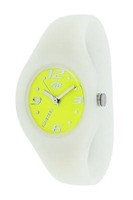 Marea Nineteen B35503/26 - Reloj unisex de cuarzo, correa de silicona color blanco