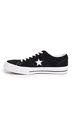 Converse One Star OX Herren Sneaker Schwarz Black