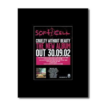 soft-cell-cruelty-without-beauty-matted-mini-poster-135x10cm