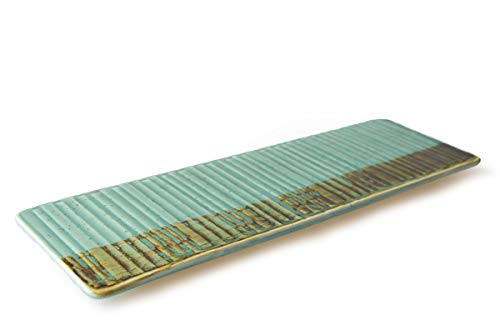 THE CHEF COLLECTION - Plato Rectangular Art 30, Colección Art, plato rectangular, porcelana colores, 30,7x10,0x1,5 cm