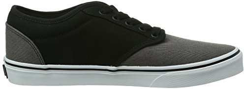 Vans M Atwood, Baskets per Uomo Nero (Black/Grey)