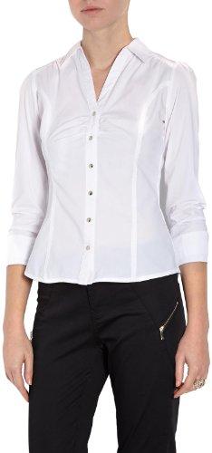 Morgan Damen Hemd, 141-CARRA.N, GR. 40 (Herstellergröße: 42), Weiß Preisvergleich