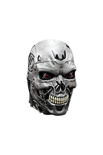 Terminator Genisys Maske Lizenzware Cyborg Silber ()