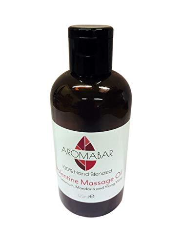 San valentino olio per massaggi con geranio rosa & ylang 125ml romantico & sensuale