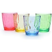 URMELODY infrangibile in plastica Acqua potabile tazza Bicchieri acrilico bicchieri