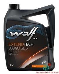 Wolf Öl Getriebe/Differential 5Liter Extend Tech 80W90GL55L
