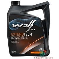 WOLF Olio Cambio/differenziale 5 Litri EXTEND TECH 80W90 GL5 (Mustang Differenziale)