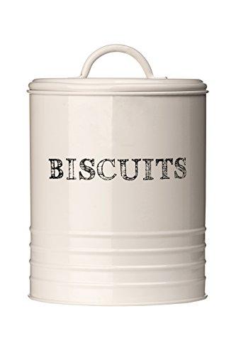 Premier Housewares 0507628 Sketch Contenitore per Biscotti Metallo Beige