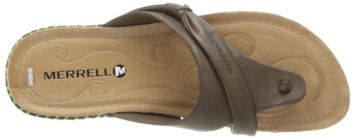 Merrell Whisper Flip, Sandales femme Marron (Brown)