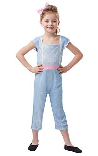 Rubie's Offizielles Disney Toy Story 4, Bo Peep Mädchen-Kostüm, Kindergröße 9-10 - Toy Story Fancy Dress Kostüm
