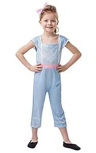 Rubies - Disfraz oficial de Disney Toy Story 4, Bo Peep Girls Classic, tamaño grande, para niños de 7 a 8 años