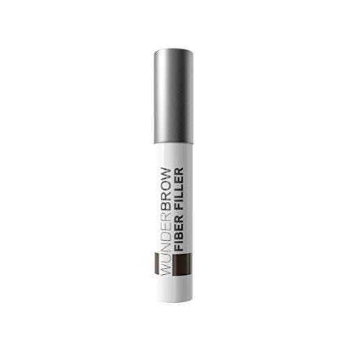 WUNDER2 Wunderbrow Fiber Filler Poudre Longue Tenue & Soin pour Sourcils Brunette