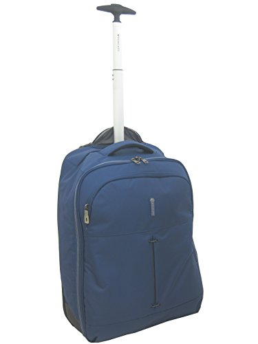 zaino trolley porta pc cabina Roncato ironik 55x40x20 1,9 kg (blu)