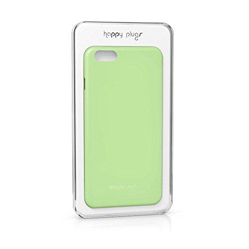 Happy Plugs Ultra Thin Super Leggero Smartphone Custodia case cover compatibile con Apple iPhone 6Plus e 6S Plus Verde Menta