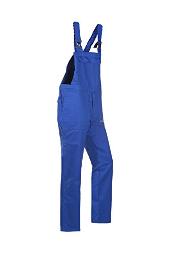 Frederik Sioen 005vn2pifh46r48Alvito Flammschutzmittel antistatisch Latzhose Hose, Regular 48, Royal Blau (10Stück)