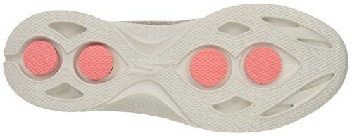 Skechers Gowalk 4 Super Sock 4, Baskets Basses Femme Beige (Tpe)