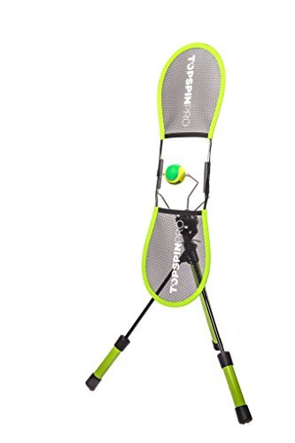 TopspinPro – Impara il Topspin 2 minuti al giorno – Un rivoluzionario strumento di aiuto per l'allenamento nel tennis – Usato in 67 paesi