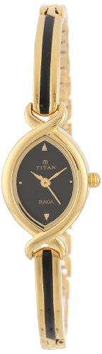 Titan Raga Analog Black Dial Women's Watch - NB2251YM04